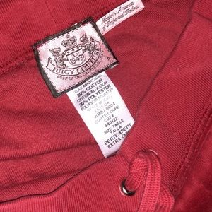 Red Juicy lounge pants!